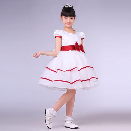 儿童影楼写真公主裙_女童连衣蓬蓬裙