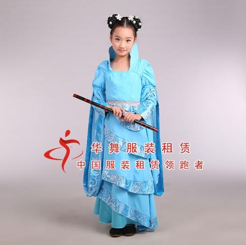 儿童古装服装_女童写真仙女装